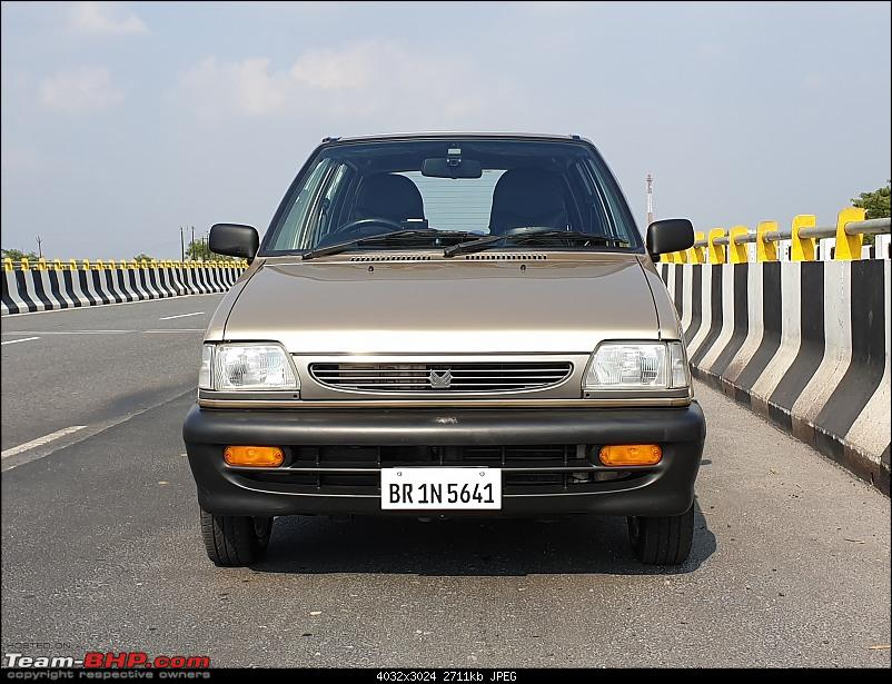 The love of my life - A 2000 Maruti 800 DX 5-Speed. EDIT: Gets export model features on Pg 27-20200608_154238.jpg