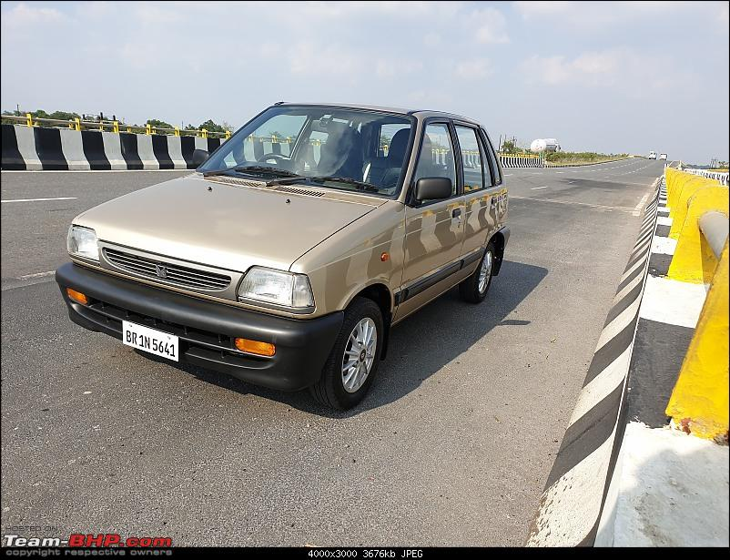 The love of my life - A 2000 Maruti 800 DX 5-Speed. EDIT: Gets export model features on Pg 27-20200608_154251.jpg