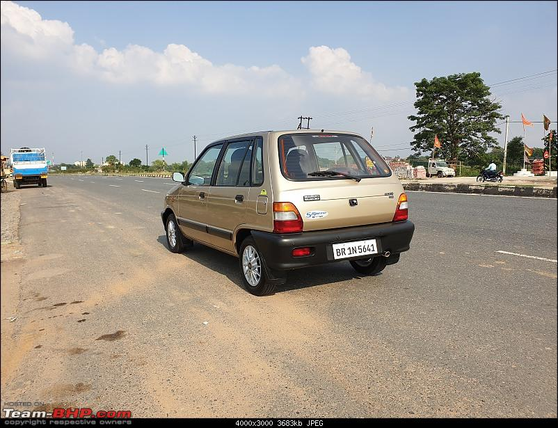 The love of my life - A 2000 Maruti 800 DX 5-Speed. EDIT: Gets export model features on Pg 27-20200608_154525.jpg