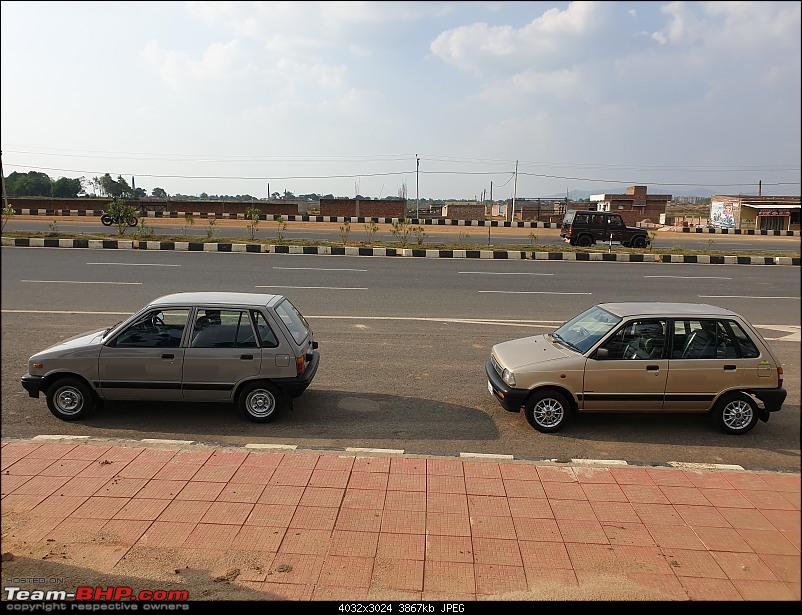 The love of my life - A 2000 Maruti 800 DX 5-Speed. EDIT: Gets export model features on Pg 27-20200608_162413.jpg