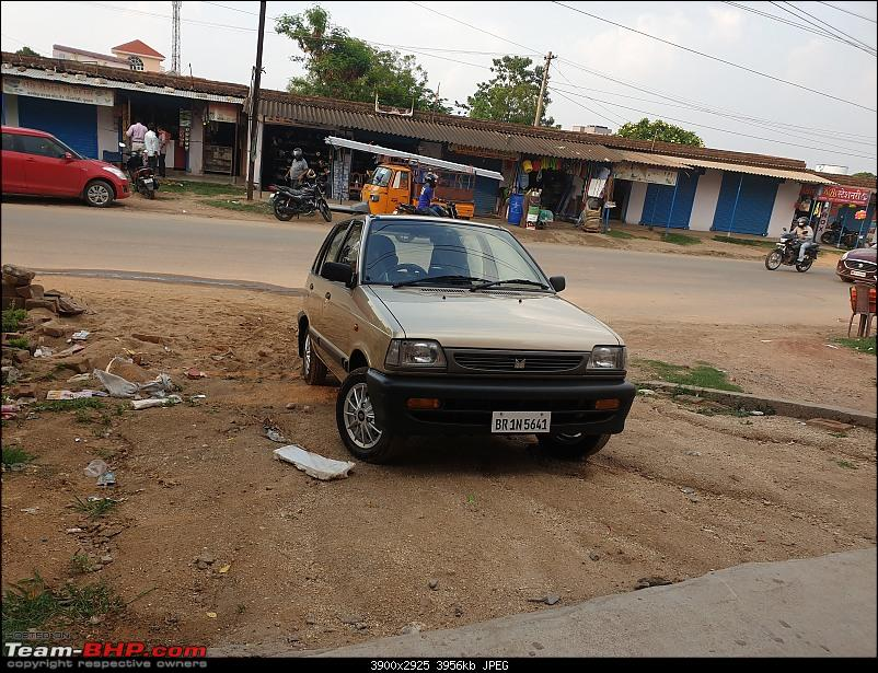 The love of my life - A 2000 Maruti 800 DX 5-Speed. EDIT: Gets export model features on Pg 27-20200608_173100.jpg