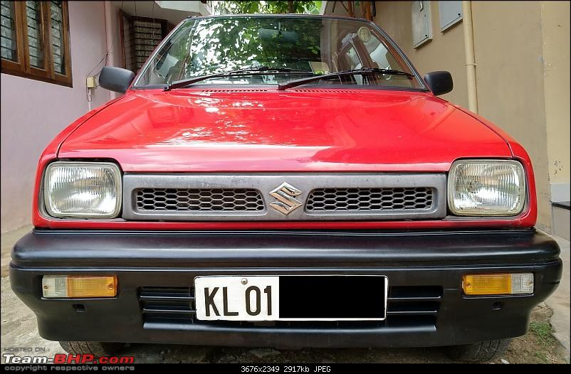 The love of my life - A 2000 Maruti 800 DX 5-Speed. EDIT: Gets export model features on Pg 27-img_20200625_200202.jpg