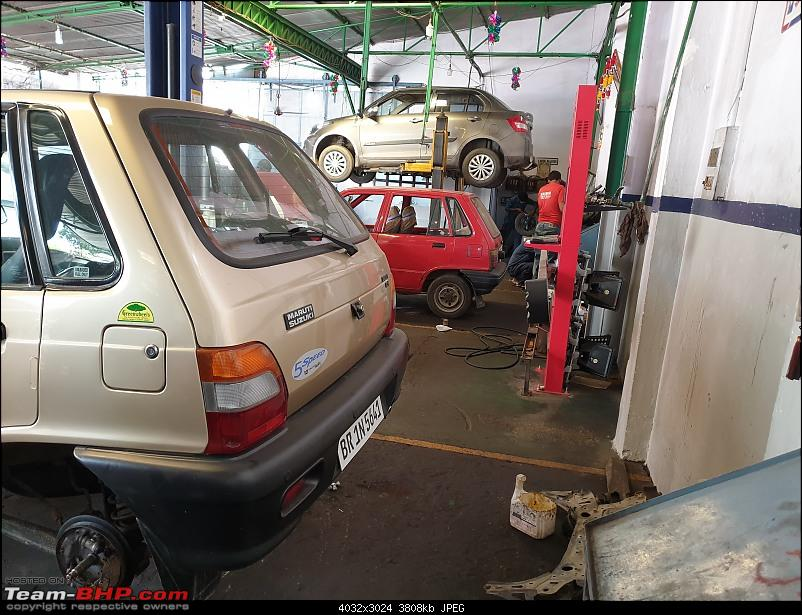 The love of my life - A 2000 Maruti 800 DX 5-Speed. EDIT: Gets export model features on Pg 27-20201005_115049.jpg