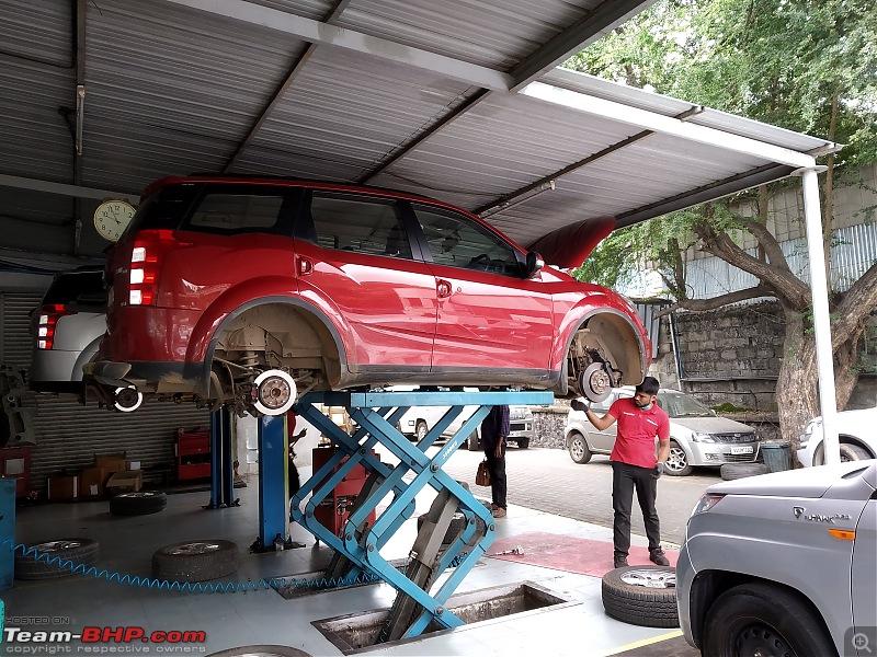 Optimus Prime - Tuscan Red Mahindra XUV5OO W8 ownership report-img_20201113_100122.jpg