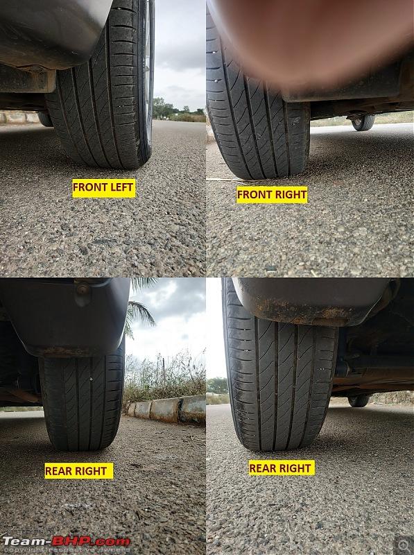 Tallboy welcomes longer companion: Maruti Ertiga VDi - The 200,000 Km update!-05-tire-wear.jpg