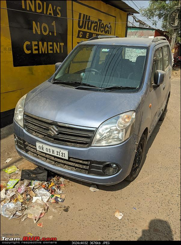 "An ""adopted"" blue eyed boy: Pre-owned Maruti WagonR. EDIT: 8 years & 81,000 km up-pxl_20210109_063503792.jpg"