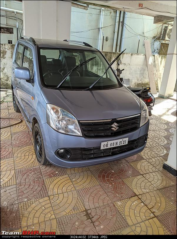 "An ""adopted"" blue eyed boy: Pre-owned Maruti WagonR. EDIT: 8 years & 81,000 km up-pxl_20210110_060738193.jpg"