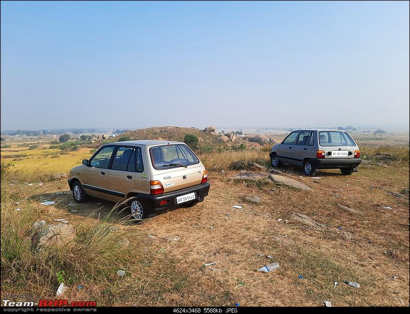 The love of my life - A 2000 Maruti 800 DX 5-Speed. EDIT: Gets export model features on Pg 27-20201102_145753.jpg
