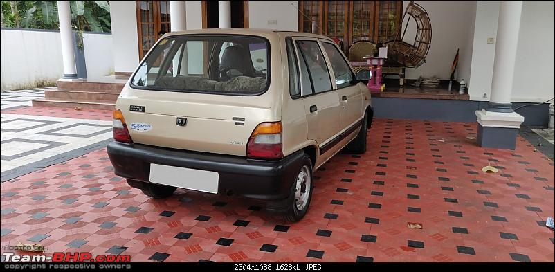 The love of my life - A 2000 Maruti 800 DX 5-Speed. EDIT: Gets export model features on Pg 27-20210326__12.49.23.jpeg