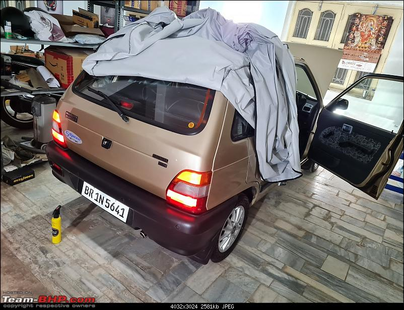 The love of my life - A 2000 Maruti 800 DX 5-Speed. EDIT: Gets export model features on Pg 27-20210506_192125.jpg
