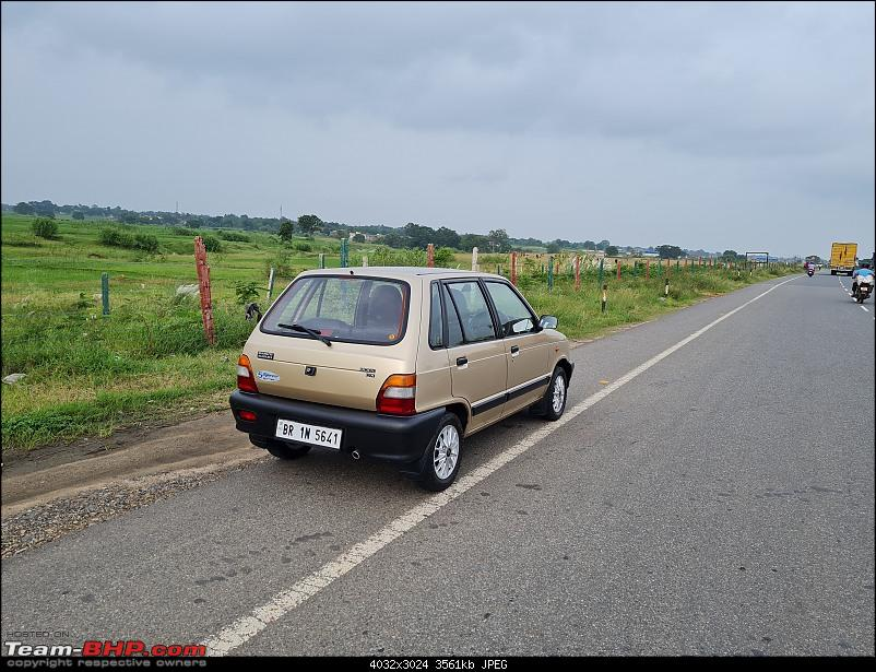 The love of my life - A 2000 Maruti 800 DX 5-Speed. EDIT: Gets export model features on Pg 27-20210812_164511.jpg