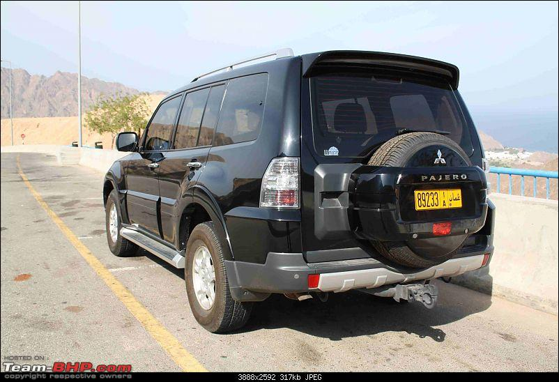Mitsubishi Pajero(Montero in India),6 months review-back-view.jpg