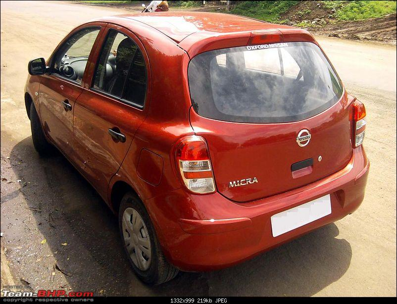 Nissan Micra initial review. EDIT: 3 years of happy ownership!-rear_3_quarters.jpg