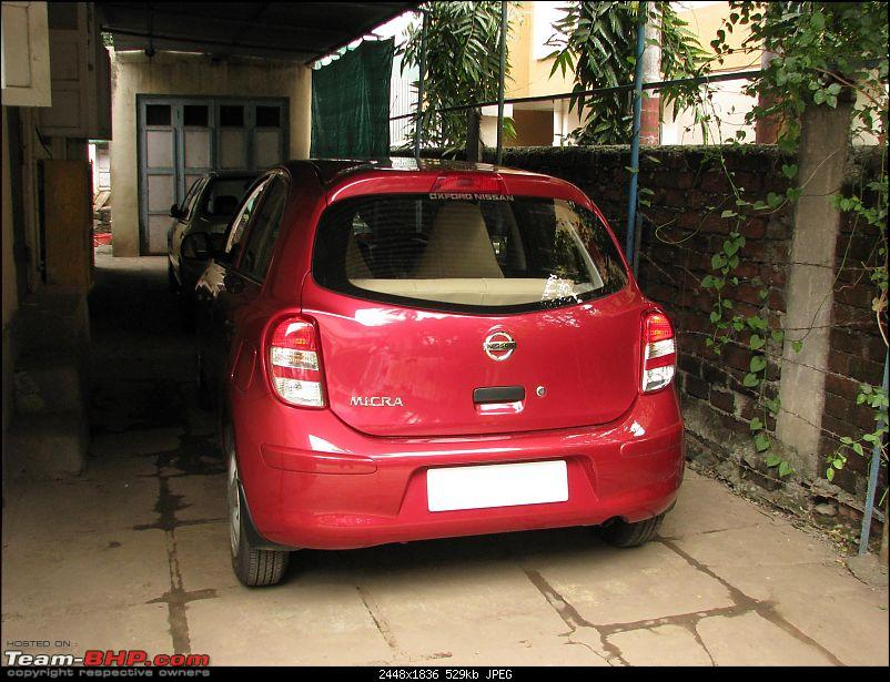 Nissan Micra initial review. EDIT: 3 years of happy ownership!-rear_1.jpg