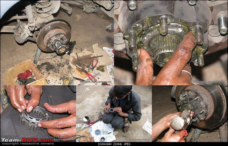 Toyota Landcruiser - 80 Series HDJ80 - Owned for 82,000 kms and counting-602-greasing-final-assembly-progress.jpg