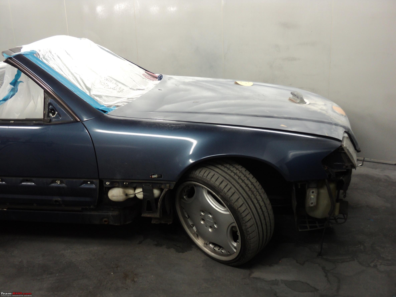 My R129 Mercedes 500SL 1991 - Team-BHP