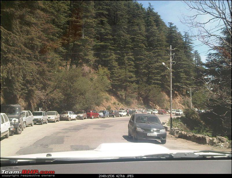 Obelix, the Invincible Toyota Fortuner! 2,00,000 km and going strong!-2-leaving-simla.jpg