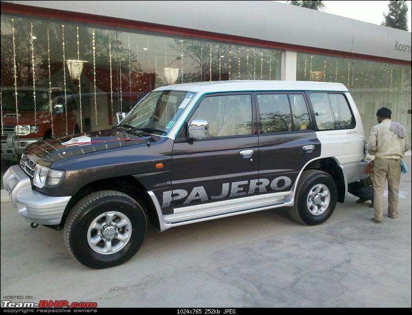 Mitsubishi Pajero - The Dark Horse comes home. EDIT: Sold-20110413_175533_625.jpg