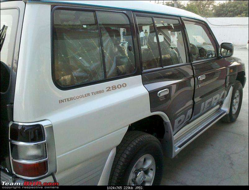 Mitsubishi Pajero: The Dark Horse comes home-20110413_175641_770.jpg