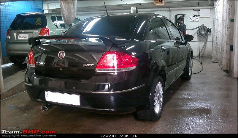 My Terrestrial Fighter Jet : Fiat Linea T-Jet+. EDIT: 3 years, 4th Service completed-07072011057.jpg