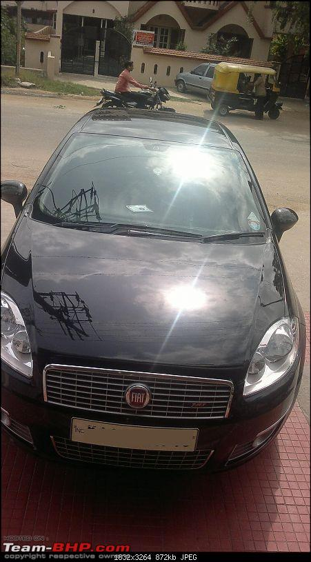 My Terrestrial Fighter Jet : Fiat Linea T-Jet+. EDIT: 3 years, 4th Service completed-07072011071.jpg