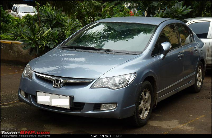 Honda Civic AT - 35000 Kms Update With New Tyres-front34.jpg