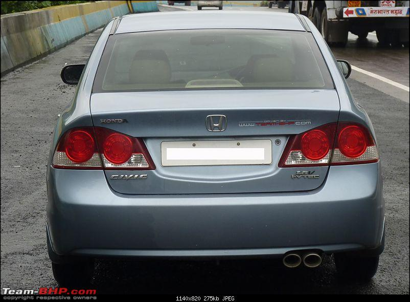 Honda Civic AT - 35000 Kms Update With New Tyres-civicrear.jpg
