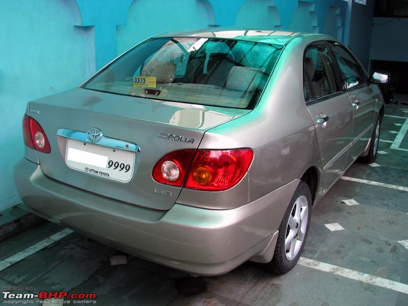 toyota corolla 2004 - long term ownership report 55,000 km - team-bhp
