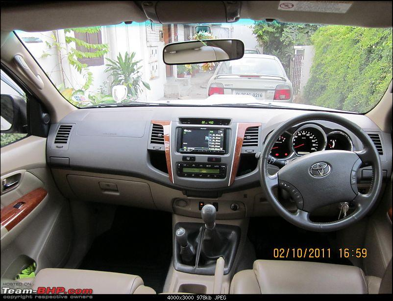 Obelix, the Invincible Toyota Fortuner! 2,00,000 km and going strong!-full-interior-front.jpg
