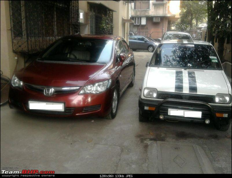 Honda Civic Independence : CNG'd. EDIT: 1,00,000 km up!-tbhpfrontindfreedom.jpg