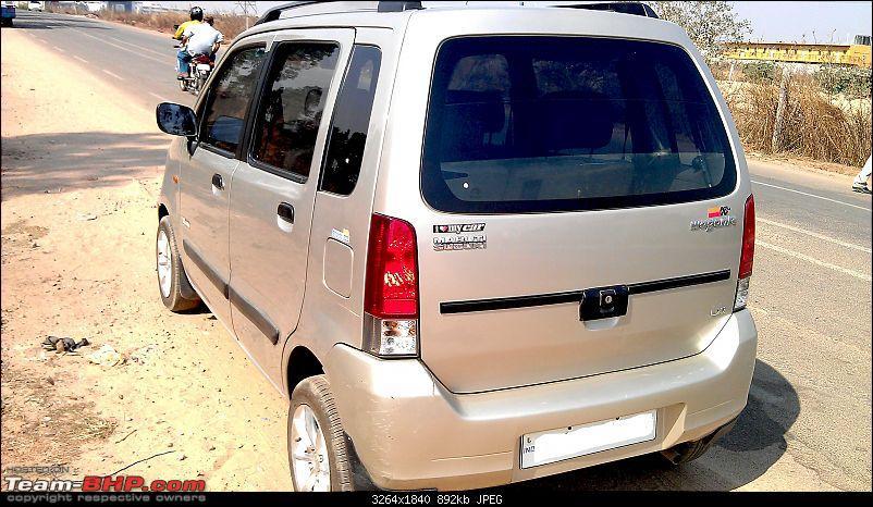 My Maruti Wagon-R F10D: Beyond 10 Years & 232,000 kms-rear-angular.jpg