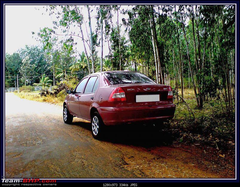 Duratorq-in' with Josh: Ford Ikon TDCi * 4 years 7 months/43,941 km & Letting Go :(-rearview2.jpg