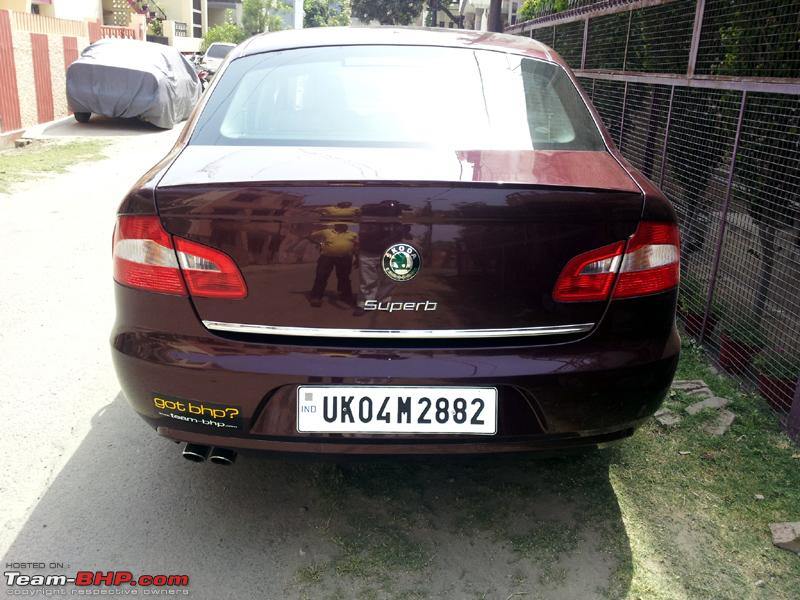 Name:  Skoda Superb HSRP Back View.jpg