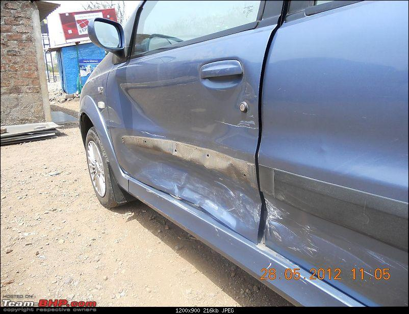 Tata Indica DLX - 150,000 kms & beyond-front-door-damaged-badly.jpg