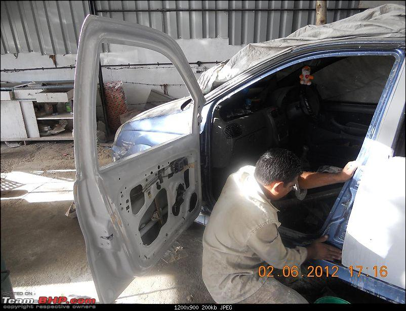 Tata Indica DLX - 150,000 kms & beyond-painter-chinu-work.jpg