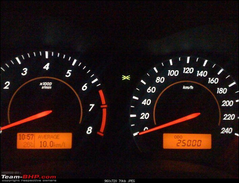 2009 Toyota Corolla Altis 1.8 GL - 74,000 kms 9th year ownership report-altis_25k.jpg