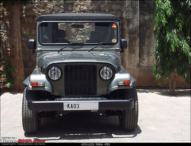 Call of the wild - Mahindra Thar CRDe-insect-mesh-headlamp-guard.jpg