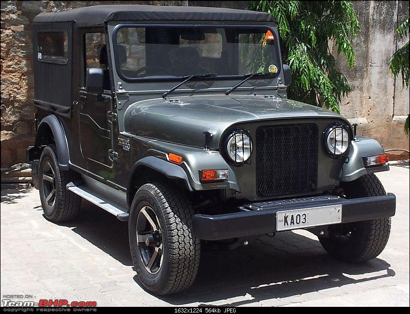 Call of the wild - Mahindra Thar CRDe-front-right-profile.jpg