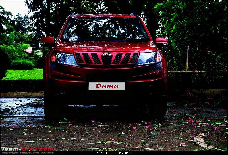 "The ""Duma"" comes home - Our Tuscan Red Mahindra XUV 5OO W8-dsc_0113.jpg"