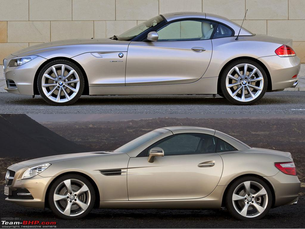 2011 Merc Slk Vs Bmw Z4 Team Bhp