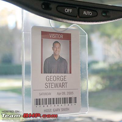 Car Windscreen Park Parking Ticket Clip Work Pass Holder Entry Pass