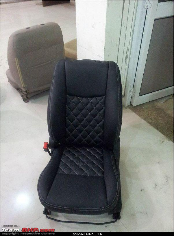 photo gallery seat covers by auto form india team bhp. Black Bedroom Furniture Sets. Home Design Ideas