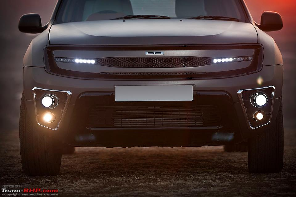 DC Designs Duster Customization An Additional 349 Lakhs