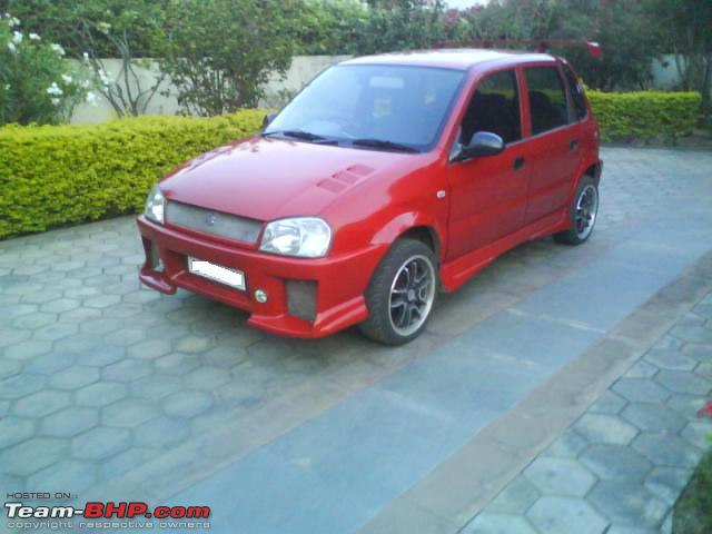 Indian Car Modified Maruti Suzuki Zen Modified Indian Car Modified