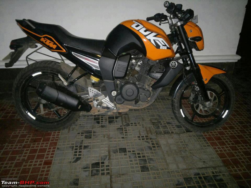 Yamaha Fz16 Modification Parts Pics of weird and wack...