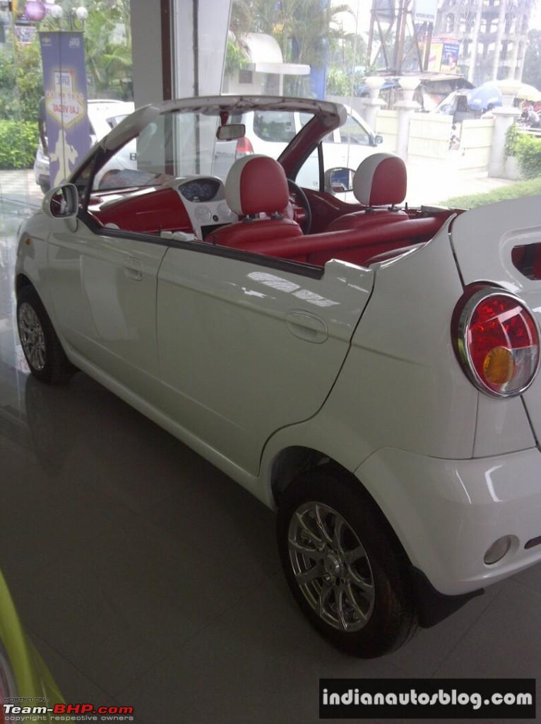 Suzuki Car Dealership >> Chevrolet Spark Convertible - Team-BHP