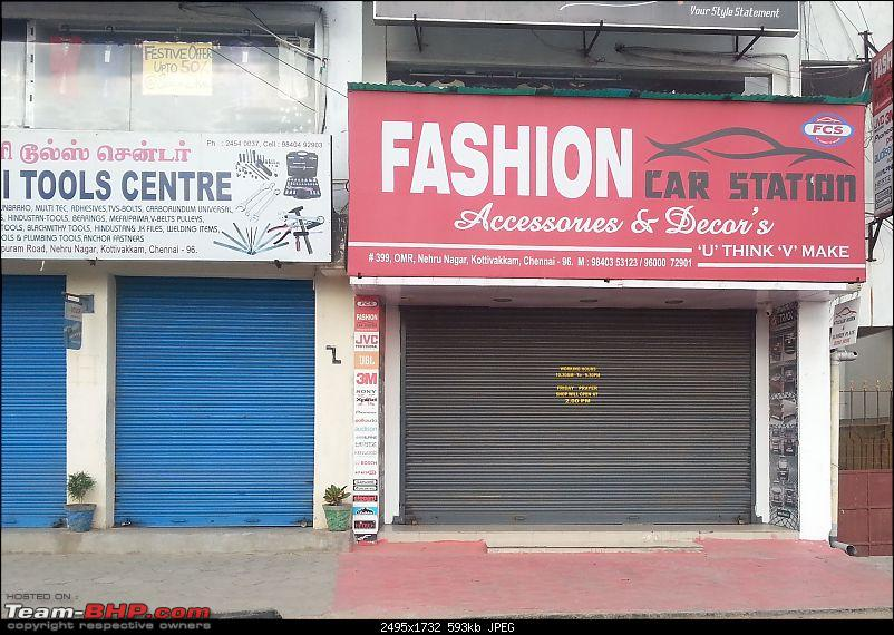 Decently priced goods, AWFUL technical abilities : Fashion Car Station, Kottivakkam-avoid-shop.jpg