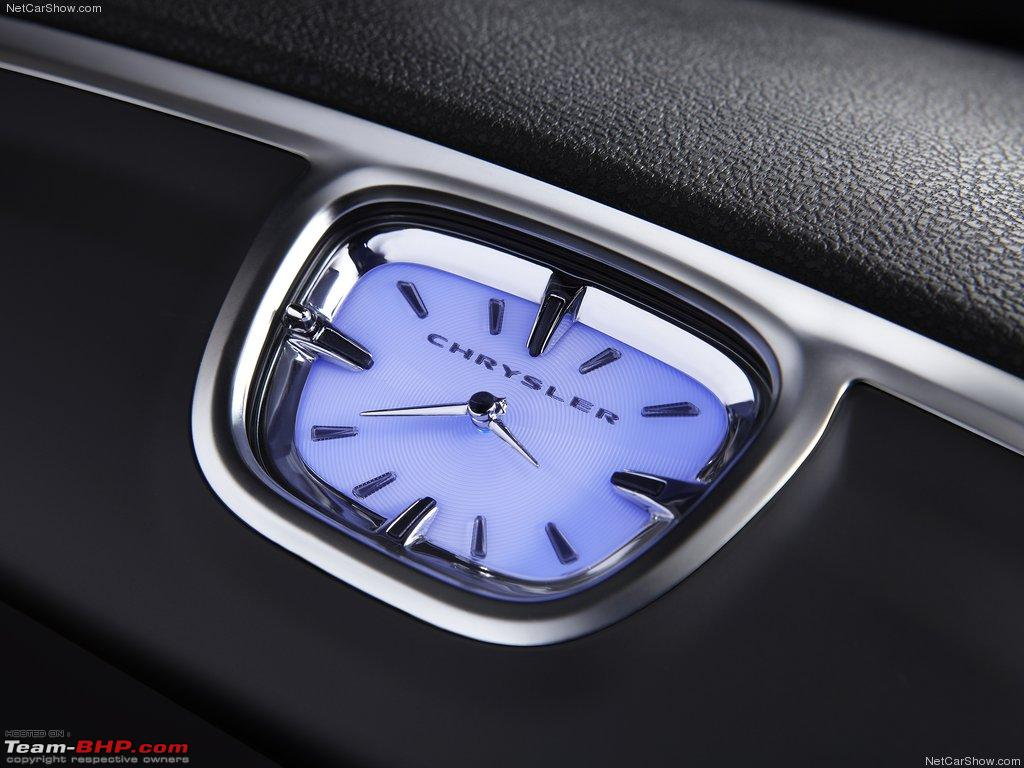 Chrysler 300 Exotic Dash Clocks Newchrysler300clock Jpg