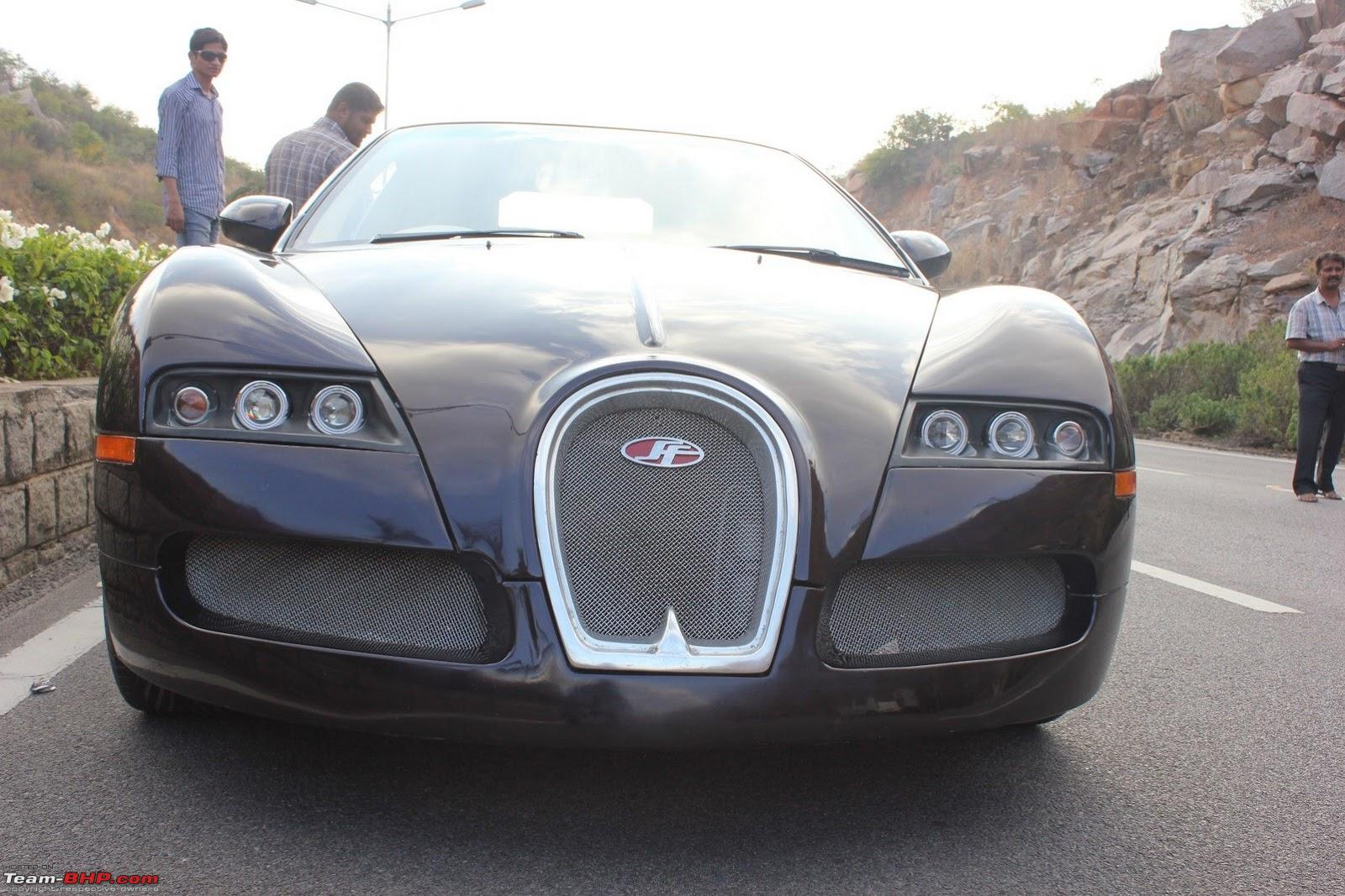 Pics Bugatti Veyron Replica In India Edit One More On Pg 3