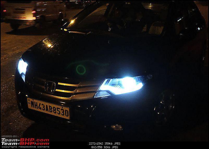 Honda City iVtec: Projectors & DRL setup-25.jpg